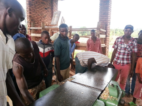 Carpentry cooperative supported by FIOM in Gatsibo